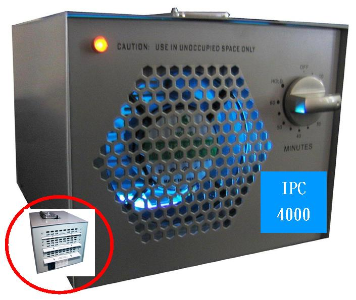 Living Lightning 'IPC-4000' Industrial Power Air Cleaner
